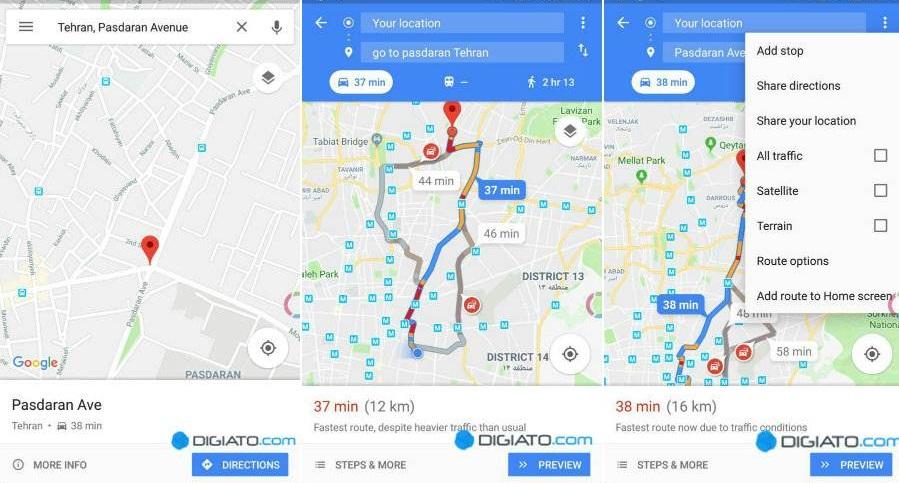 گوگل مپس-آموزش-google maps