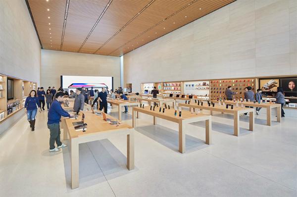 نخستین اپل استور فروشگاه فیزیکی اپل در کره جنوبی سئول