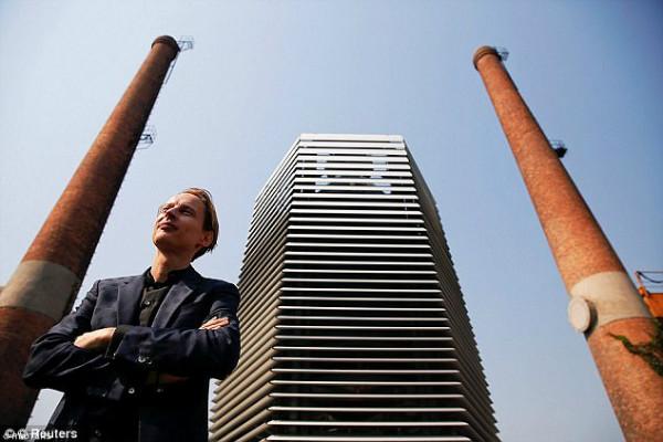 بزرگترین دستگاه تصفیه هوای دنیا