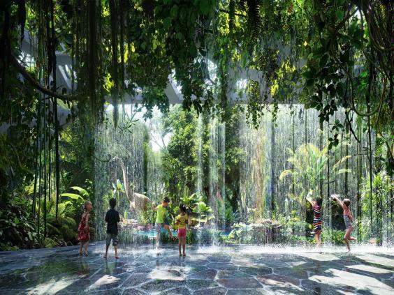جنگل گرمسیری مصنوعی