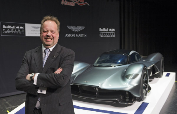 Andy Palmer, CEO of Aston Martin