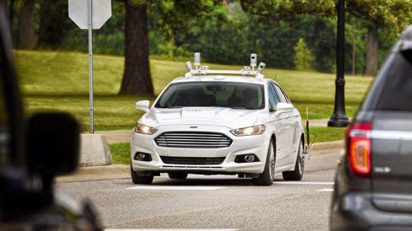 Ford-Self-driving-car