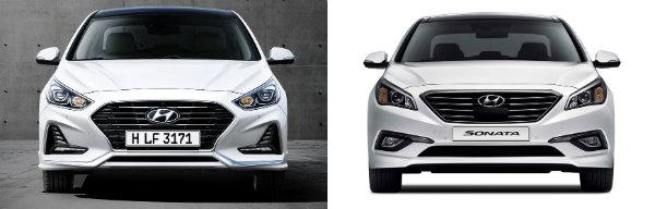 Hyundai Sonata 2018 vs 2015