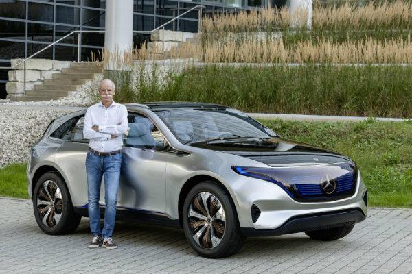 Mercedes EQ and Dieter Zetsche