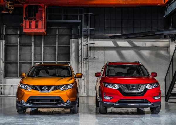 Nissan-Rogue and Rogue_Sport-2017