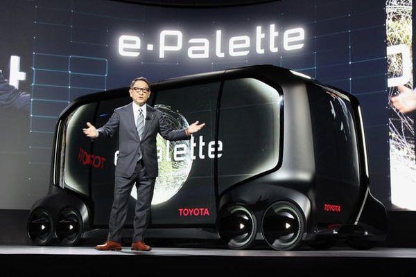 Toyota's 'e-Palette' concept (7
