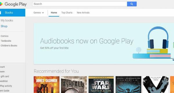 کتاب های صوتی گوگل پلی