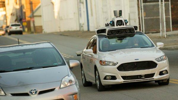 اتوموبیل های خودران اوبر