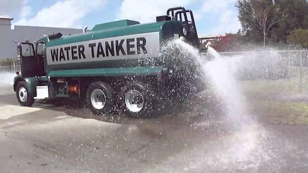 تانکر حمل آب