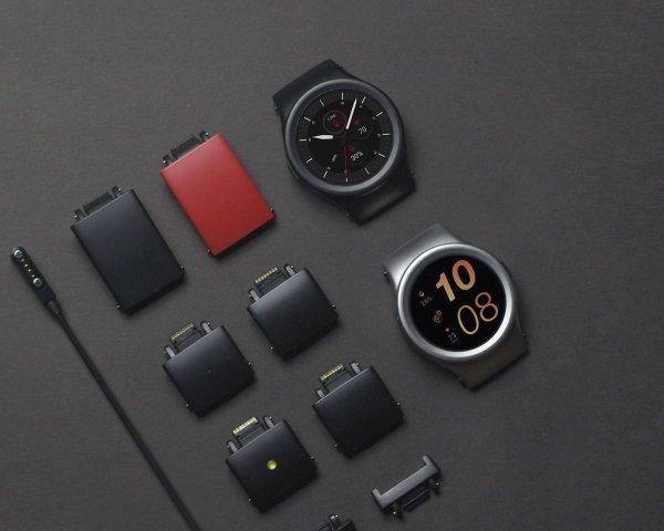 ساعت هوشمند ماژولار Blocks
