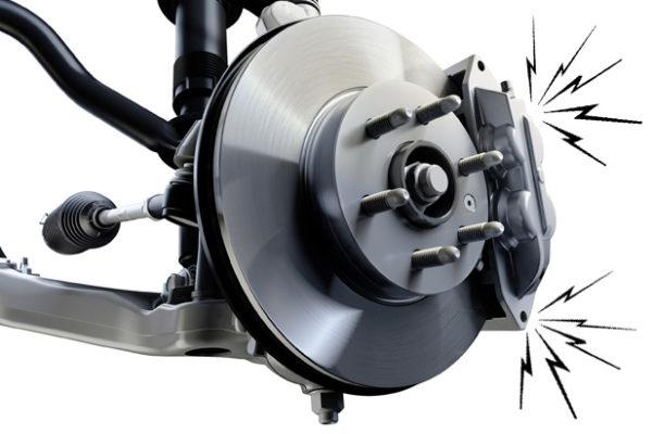 Brake Squealing 600x400 کنترل کشش چگونه چسبندگی خودرو را افزایش می دهد؟ اخبار IT