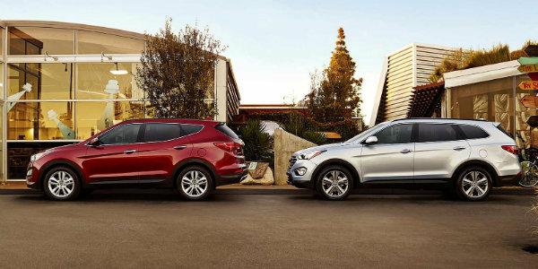 Hyundai_Sante-Fe and Santa Fe Sport