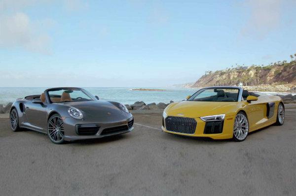 Porsche and Audi (1)
