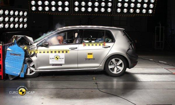 Volkswagen Golf VII crash test