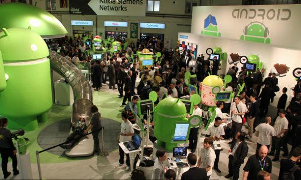 نمایش گوگل در MWC