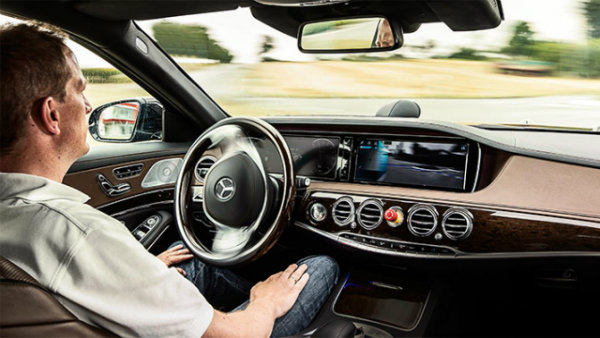 self-driving S-Class