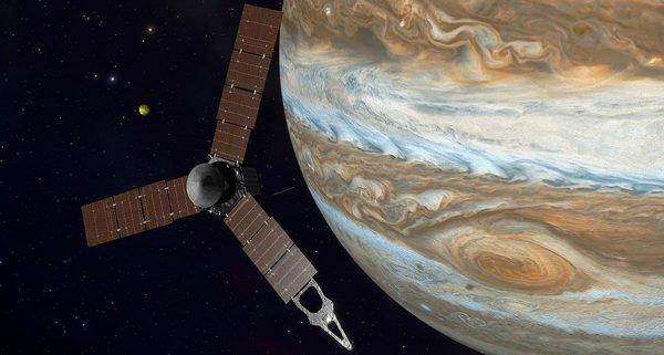 فضاپیمای جونو سیاره مشتری