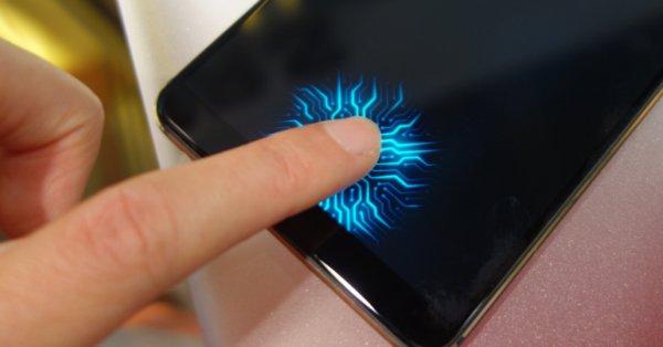 حسگر اثر انگشت زیر نمایشگر