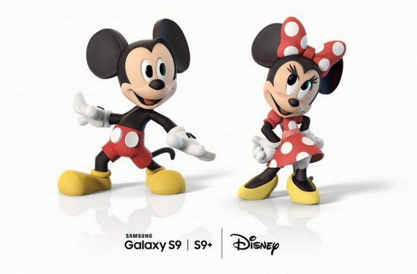 Samsung AR emoji Mickey Mouse 1 - سامسونگ کاراکترهای دیزنی را به اموجی های متحرک گلکسی اس 9 آورد