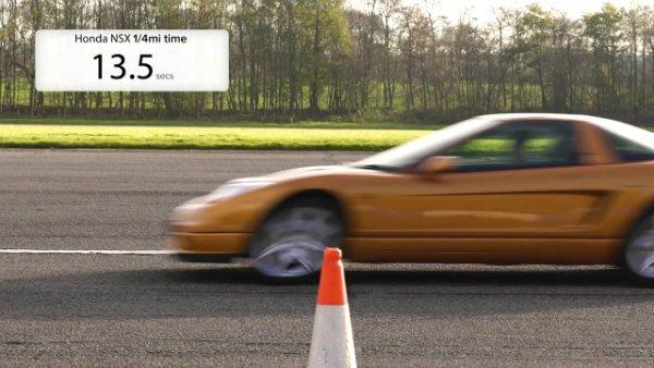 Honda Civic Type R vs Old NSX –DRAG RACE, ROLLING RACE (11)