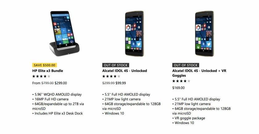 گوشی های ویندوزی