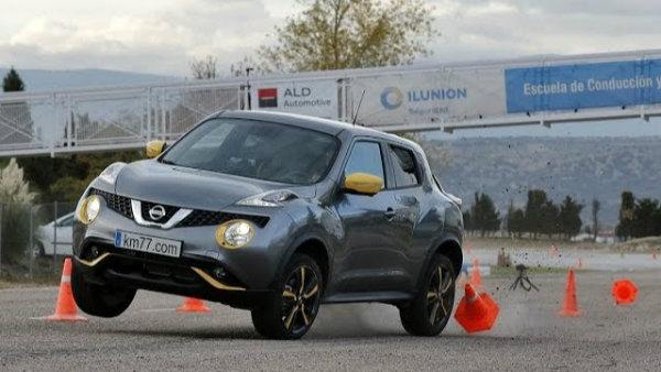 Nissan Juke moose test