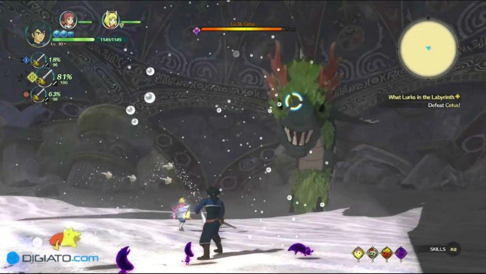 بررسی بازیNi no Kuni II