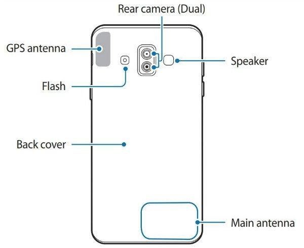 تصویر دفترچه راهنمای گلکسی J7 Duo