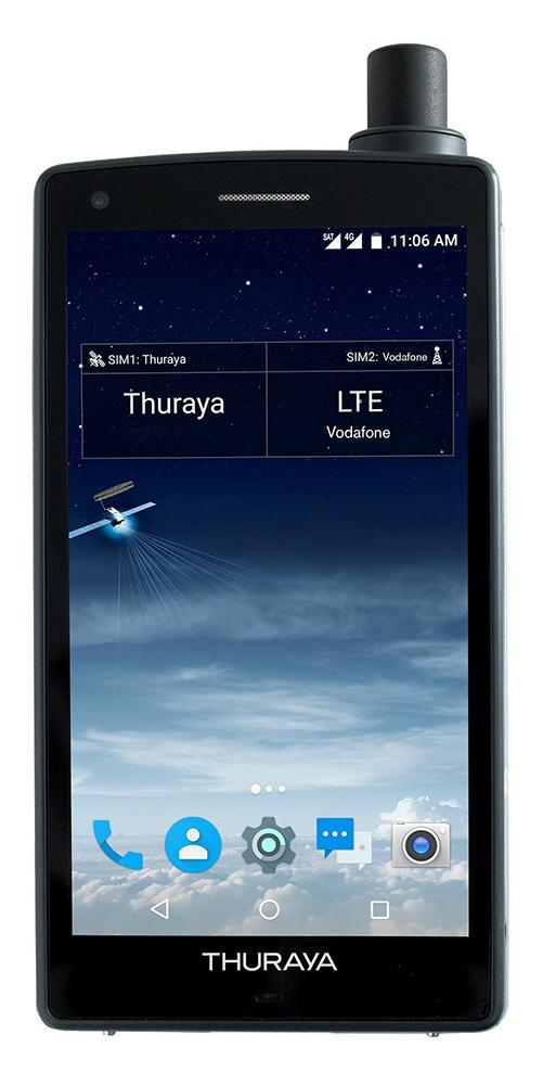 نخستین موبایل ماهواره ای اندرویدی X5-Touch