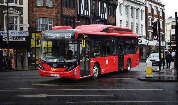 byd london Bus