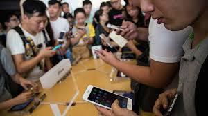 افت فروش موبایل های هوشمند در بازار چین