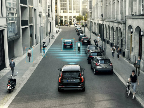 volvo driver assistance system