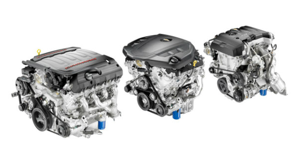 2016 Chevrolet Camaro engines