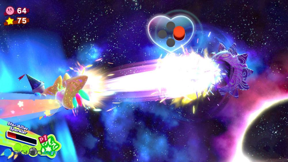 بازی Kirby Star Allies