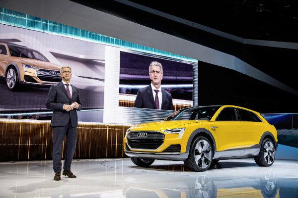 Audi h tron naias 2016