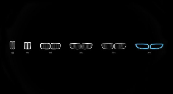 BMW Grill History