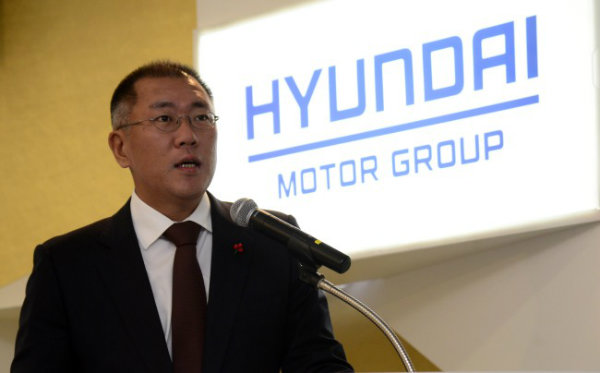 Hyundai Motor Group vice chairman Chung Eui-sun