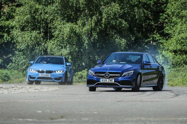 Mercedes-AMG C63 versus BMW M3