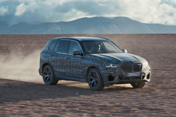 New BMW X5 teased ahead of Paris Motor Show debut later this year (7)