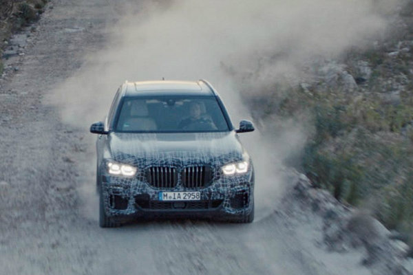New BMW X5 teased ahead of Paris Motor Show debut later this year (5)
