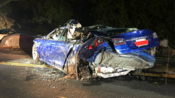 Tesla Model S Involved in New Deadly Crash (2)