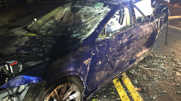 Tesla Model S Involved in New Deadly Crash (3)