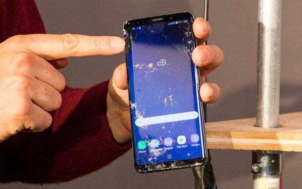 تست سقوط موبایل