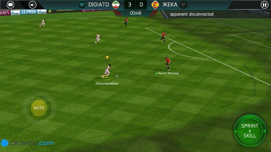 بازی فوتبال فیفا 2018