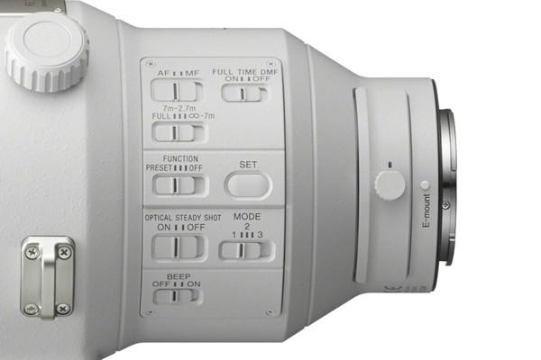 لنز سونی 400 میلیمتری