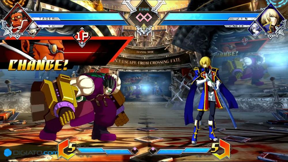 بازیBlazBlue Cross Tag Battle