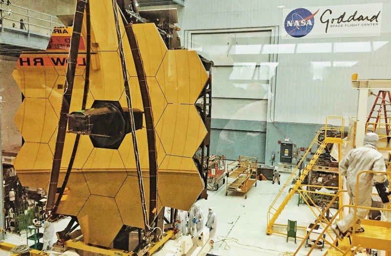 ناسا تلسکوپ فضایی جیمز وب پرتاب