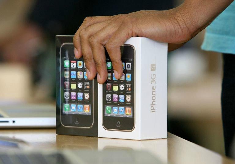 فروش دوباره آیفون 3GS اپل