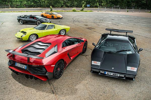lamborghini v12 cars
