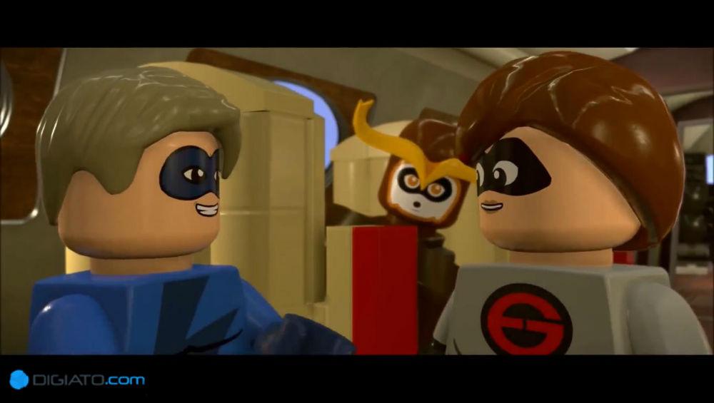 بررسی بازی Lego Incredibles